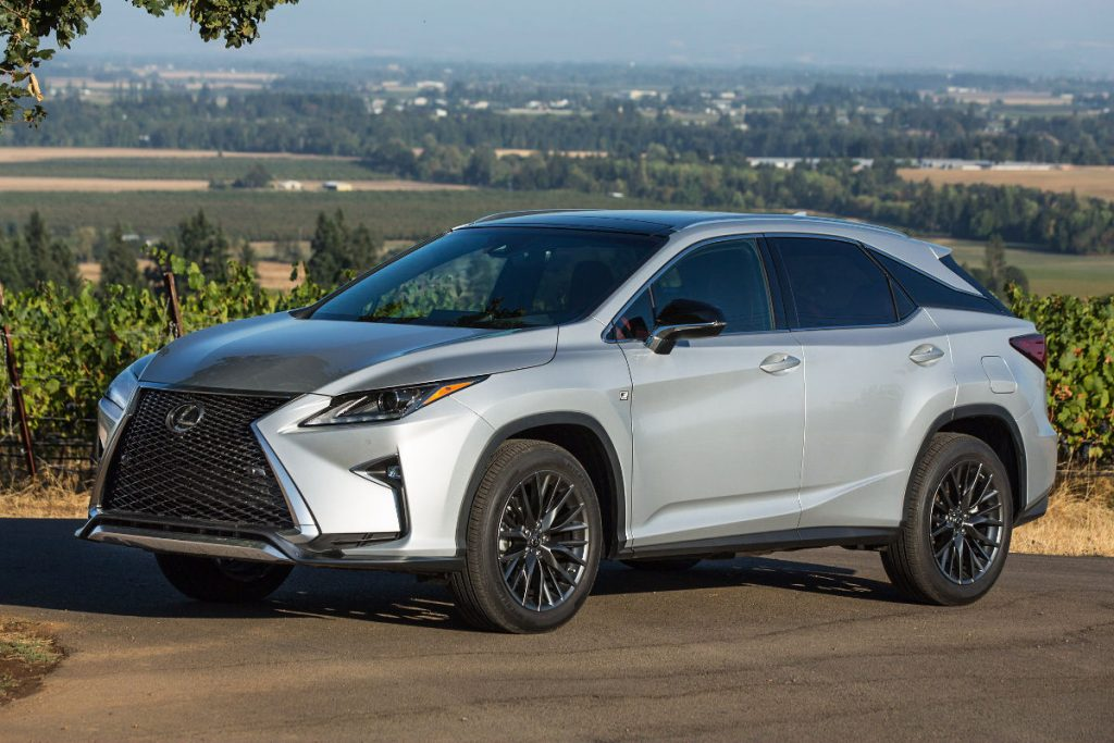 2017 lexus rx 450h f sport review