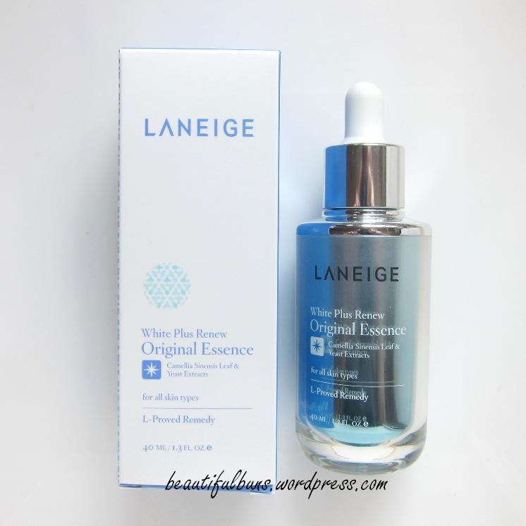 review laneige white plus renew essence