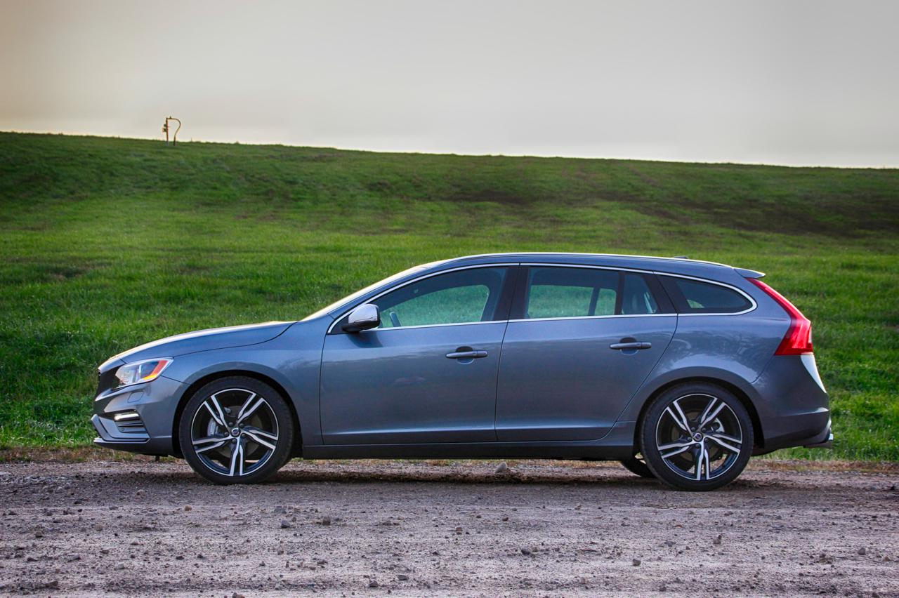 2017 volvo v60 t6 r design review