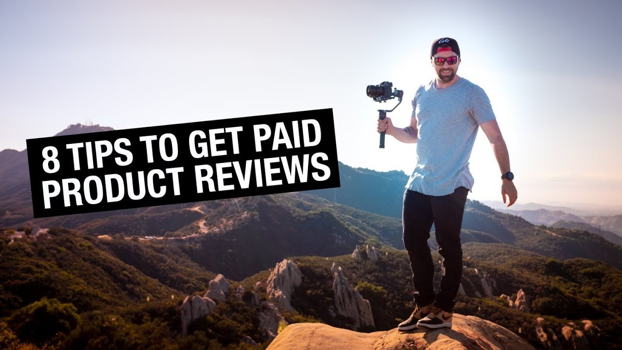 how to review products on youtube and get paid