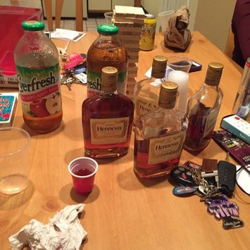 hennessy and apple juice review