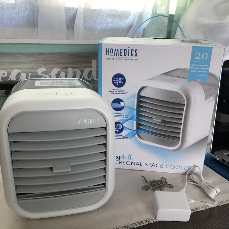 homedics mychill personal space cooler reviews