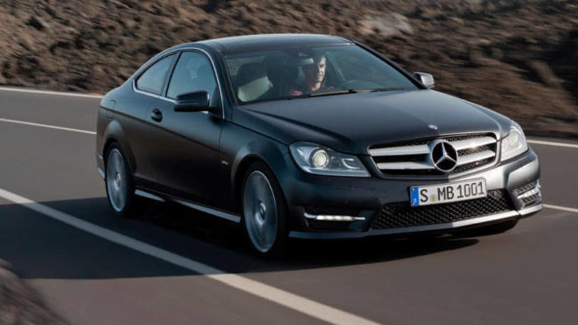 mercedes c class coupe review 2012