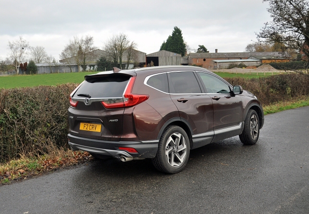 honda crv 2018 review uk