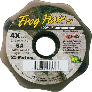 frog hair fluorocarbon tippet reviews