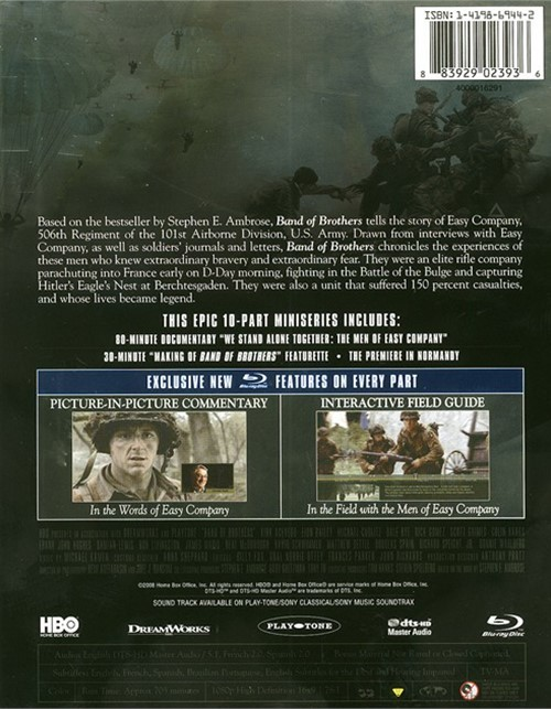 band of brothers blu ray review