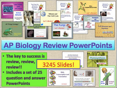 ap biology 2013 exam review