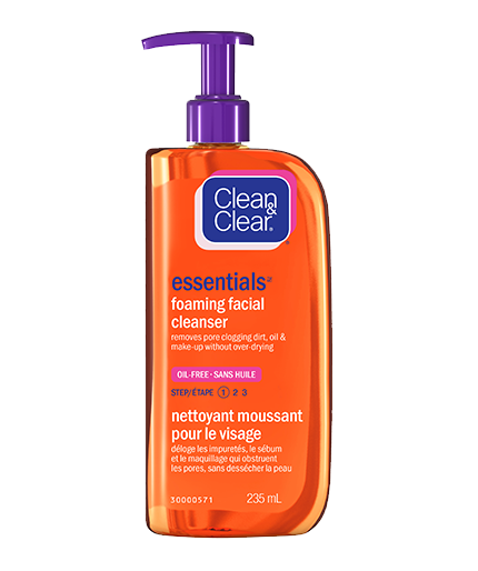 clean and clear foaming facial cleanser review