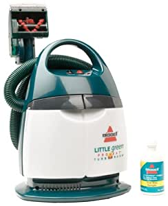 bissell little green portable deep cleaner reviews