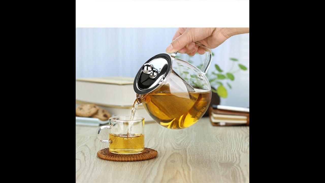 chefman glass kettle with infuser review