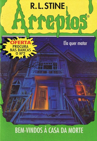 book review of goosebumps welcome to dead house