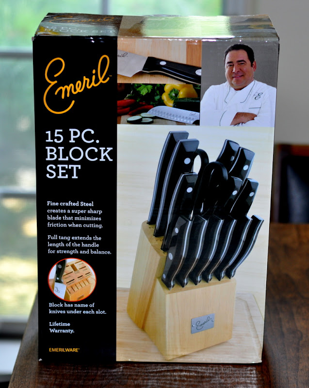 emeril stainless steel cutlery set 15 piece reviews