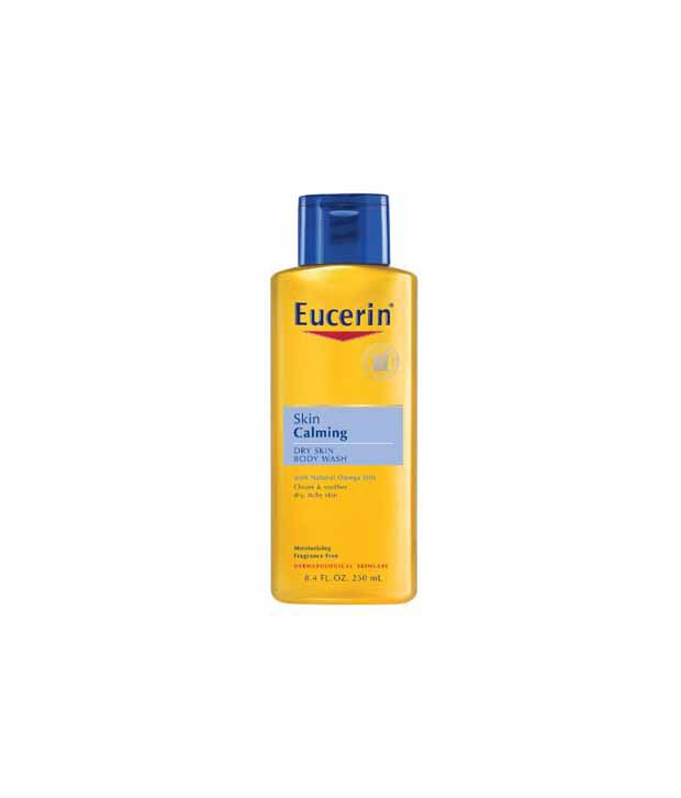 eucerin calming body wash review
