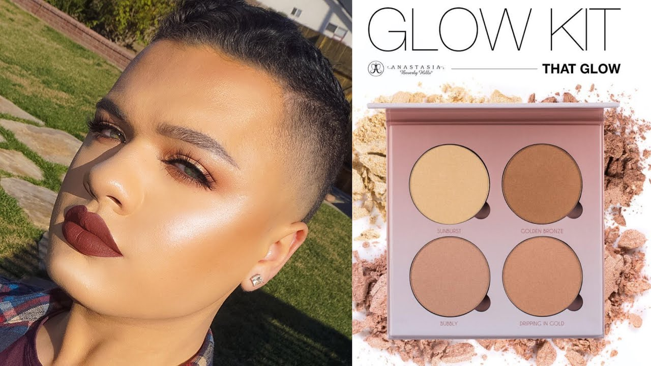 anastasia beverly hills glow kit review
